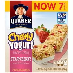 Granola Bars || Chewy Yogurt- Strawberry This is my favorite when I get hungry. Or just a nice snack. -Tami Faith