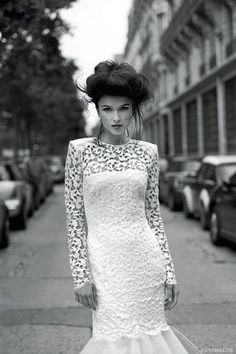 Magnificent Wedding Dresses for Magnificent Women is beautiful collection of gorgeous Wedding dresses created by famous fashion brand Cymbeline. Cymbeline Wedding Dresses, Wedding Dress 2013, Wedding Dress Gallery, Stunning Wedding Dresses, Wedding Dress Styles, Dream Wedding Dresses, Designer Wedding Dresses, Wedding Gowns, Parisian Wedding