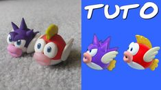 TUTO FIMO | Poisson Cheep Cheep (de Mario)
