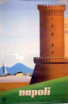 Napoli | Vintage travel poster