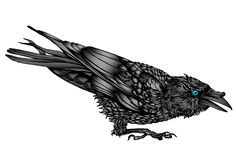 raven tattoos | Raven Tattoo Meaning – Symbolism and Ideas