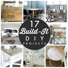 Great Ideas -- 17 Build-It DIY Projects!