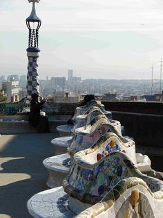 Parc Guell, Barcelon, Spain. Would love to return!