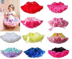 1Pc Baby Girl Kid Infant Toddler Pettiskirt Tutu Skirt Dress Party Dance Clothes #Dance