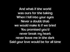 Woman in my life lyrics
