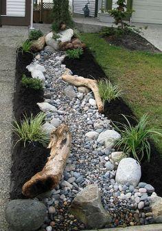 Amazing Modern Rock Garden Ideas For Backyard (73) #modernyardfront #moderngardendesign #backyardgardening #GardeningIdeas