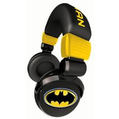 I love these types of headphones! These are from Batman!