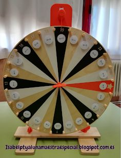 "Isabel PT-AL: ""Gira la ruleta"" Wheel Of Fortune Game, Fractions, Kids English, Math Projects, Math For Kids, Math Centers, Book Activities, Teaching, Games"