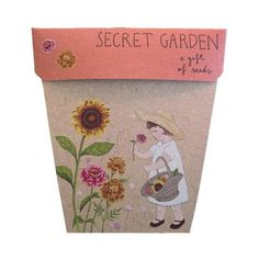 Sow 'n Sow Gift of Seeds, an eco friendly gift that grows! Introducing 'Secret Garden'... Growing Seeds, Growing Plants, Zinnia Elegans, Plant Labels, Veggie Patch, Garden Seeds, Garden Gifts, Zinnias, Marigold