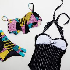 Simply not just meant for Summer // The Nightmare Before Christmas Swimwear