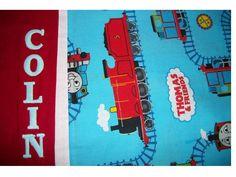 Personalized Thomas the Train Pillowcase  by MimiMakesMemories, $24.00