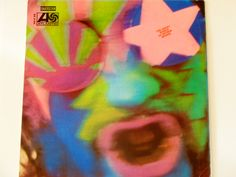 """The Crazy World of Arthur Brown - """"Fire"""" - Psychedelic Rock - Atlantic Records Re-Issue 1968 - SD 8198 - Vintage Vinyl LP Record Album"""