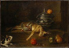 Jean Siméon Chardin (French, 1699–1779). The Silver Tureen, ca. 1728. The Metropolitan Museum of Art, New York. Fletcher Fund, 1959