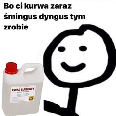 Funny Images, Funny Photos, Cute Pictures, Polish Memes, Weekend Humor, Cute Memes, Mood Pics, Stupid Memes, Reaction Pictures