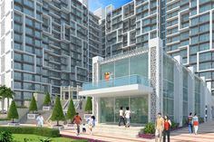 Exterior Design Rendering For #Residential #Modern #Appartment