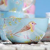 "Gypsy Interior Design Dress My Wagon  Serafini Amelia ""Retro Chic""  Bowl-Bird Motiff-Oh so beautiful-PIP Studio"