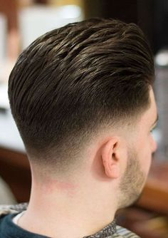 Low Fade One of the best fade haircuts for men with rounder faces is a pompadour with a low taper fade. Low Taper Fade Haircut, Types Of Fade Haircut, Tapered Haircut, Mens Fade Haircut, Best Fade Haircuts, Cool Haircuts, Haircuts For Men, Men's Haircuts, Modern Haircuts