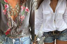 Tipos de corpo - roupas e acessórios