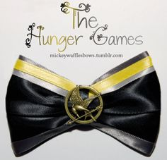 The Hunger Games Hair Bow by MickeyWaffles on Etsy, $9.00