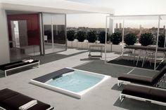 Teuco outdoor designer spa pool Seaside 641