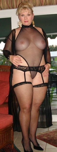 Nude cute stockings sexy Voluptuous