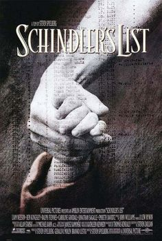 """Schindler's List"" > 1993 > Directed by: Steven Spielberg > Biopic…"