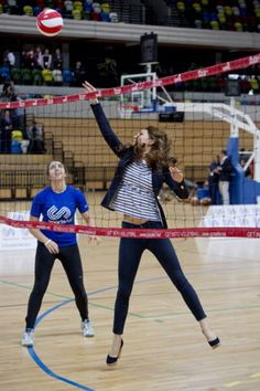 Duchess Kate Plays Volleyball in Heels   ABC News Blogs - Yahoo  She's amazing!!!!
