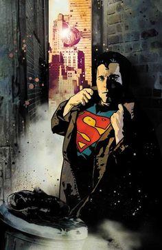 Superman by John Van Fleet