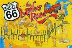 route 66 vintage postcards - yahoo Image Search Results