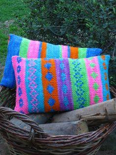 ¡Jacquard en lanas rústicas!