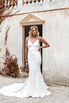 Untamed Heart | The Brand New Wedding Dress Collection from Lovers Society Gowns, New Wedding Dresses, Dress Collection, Sculpting, Bodice, Curves, Bell Sleeves, Two By Two, Vestidos