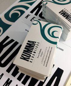 KUMMA keramiikka business card / visual identity on Behance