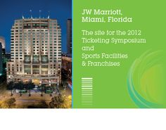 Sports Facilities & Franchises and Ticketing Symposium - SportsBusiness Daily | SportsBusiness Journal