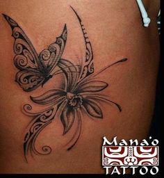 Beautiful calla lily tattoo ya pinterest calla - Tatouage femme polynesien ...
