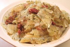 Southern Cabbage Recipe. Crock pot