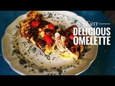 Hello and welcome to foods and crafts. In this video Im going to make the perfect omelette . It's an easy and quick recipe for everyone ! Omelette, Quick Recipes, Foods, Ethnic Recipes, Easy, Youtube, How To Make, Food Food, Omelet