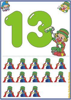 Matematik öğretimi için1-20 sayı kartları Küçük yaş grubu çocuklarımıza sayı öğretimi konusunda yardımcı olabilmek için bu kartlar hazırlanmıştır.Bu kartlar sayesinde soyut olay kavramları somut hale getirmeyi amaçlıyoruz.Sizlerde bu kartları okulda veya evde pratik bir şekilde çıktı alarak kullanabilirsiniz.İyi çalışmalar... Palyaço temalı 1-20 sayı flash sayı kartları