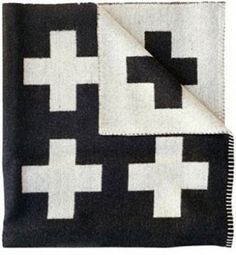 Pia Wallen 'Crux' blanket. So completely right in every way. from mjolk. completely me.