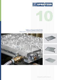 Unser neuer Katalog für Vakuumspanntechnik ist da!