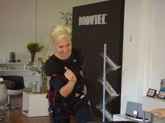 Liezel Van Der Westhuizen training at #BODYTEC City Bowl
