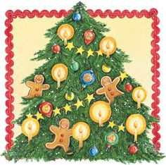 Oh Christmas Tree. Artwork by Gooseberry Patch.