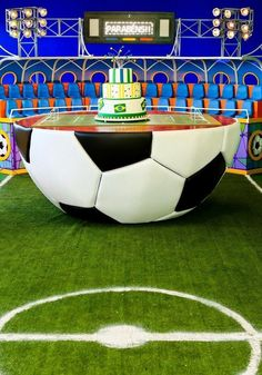 Festa Futebol  60 Ideias de Decoração com Fotos do Tema 11c6aac476d4d