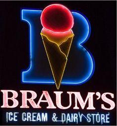 Braum's, Tulsa. I'd kick a baby for one of their banana splits or peppermint milkshakes