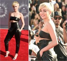 Amo Miley e amei o look! Achei anos 1993, achei minimalista, cool, achei a cara dela de bom humor (e a cara dela tá fresh tá boa)! Sei que não é um look unanimidade ou impressionante, mas amo que Miley é cheia de personalidade e tô doida pra ouvir suas novas músicas!