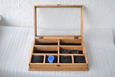 Rustic Men's Watch Box for 4 watches Rustic Sunglasses Box Watch Case Watch Box for Men watch holder Wooden Watch Box, Wooden Boxes, Sunglasses Box, Mens Watch Box, Watch Holder, Distressed Texture, Black Pillows, Watch Case, Watches For Men