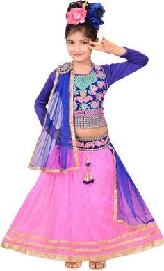 Girls Lehenga DupattaSet http://fkrt.it/RJpoXNNNNN  #Kidswear #childernfashion #offers2go #GirlsClothing #LehengaCholi #DupattaSet #Kidsshop