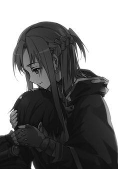 Kirito y Asuna abrazados                                                 …