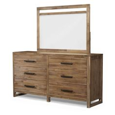 Cresent Fine Furniture Waverly 6 Drawer Dresser