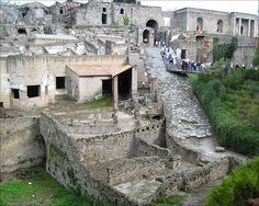 Pompeii - this is the entry