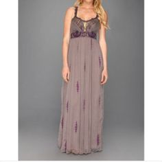 Free People Artemis Maxi Great condition, only worn twice Free People Dresses Maxi